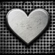Metal heart — Stock Photo #8829253