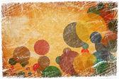 Grunge kleurrijke cirkels — Stockfoto