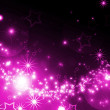 Abstract background with glowing stars — Stock Photo #8961526