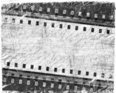 гранж фильм полоса с местом для текста — Стоковое фото