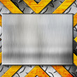 Grunge metal template — Stock Photo #9207163
