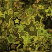 Grunge military stars — Stock Photo