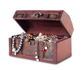 Treasure chest — Foto Stock