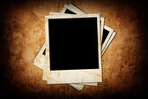 Grunge background with photo — Stock Photo
