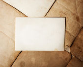 Stack old papers on grunge background — Stock Photo