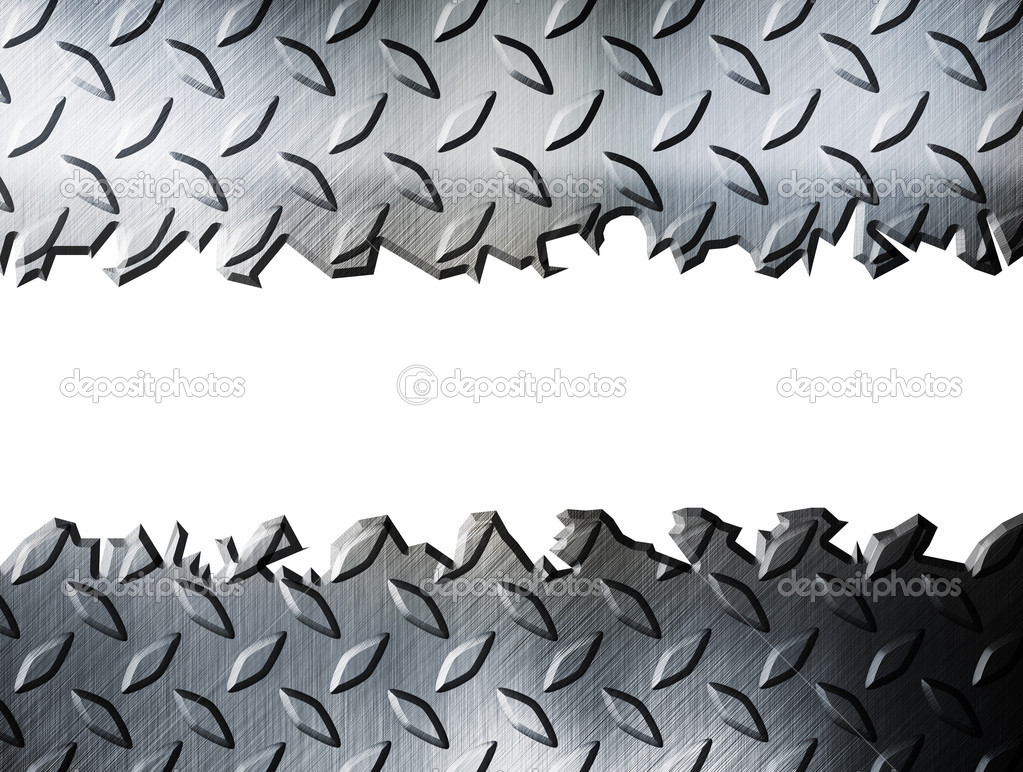diamond plate metallic border - photo #7