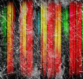 古い抽象的なカラフルな線 — ストック写真