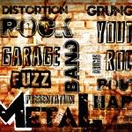 Rock Music poster — Stock Photo