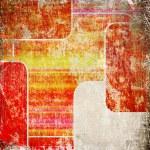 Grunge background with rectangular frames — Stock Photo #9826821