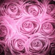 Valentine's background with roses - Stock Photo