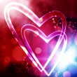 Heart background - Stock Photo