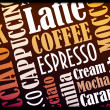 Cooffe background - Stock Photo