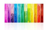 Plance di legno spettrale — Foto Stock
