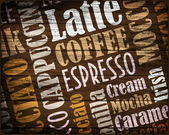 Cooffe background — Stock Photo