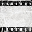 Grunge film stripe with place for text — Stock Photo