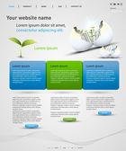 веб-дизайн вектор шаблон — Cтоковый вектор