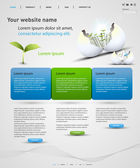 Web design vector template — Cтоковый вектор