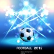 Football light poster — Stockvektor #10588332