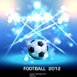 Vettoriale Stock : Football light poster