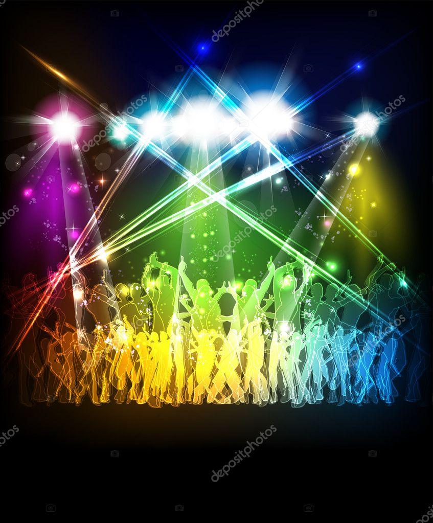 Neon Party Invitation as amazing invitations example