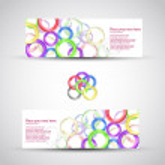 Set header card design — Stock Vector #8121437