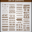 Royalty-Free Stock Vector Image: Set of vector patterns for design