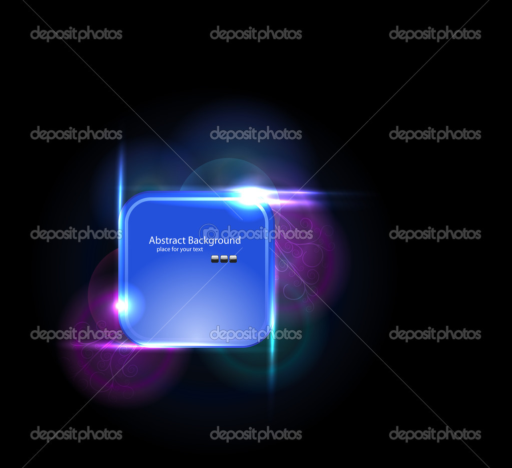 Light elements banner design — Stock Vector #9067065