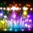 Light Club party and dance — Stock Vector