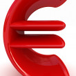 Royalty-Free Stock Photo: Euro 3d text
