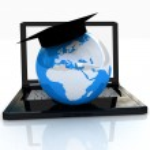 Global On line Education — Stock Photo