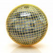 Sphere from  dollar — Stock Photo