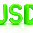 USD 3d text - Stock Photo