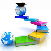 The growth of education. Globally — Stock Photo