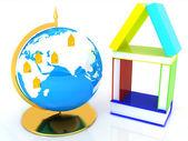 Concepto de aprendizaje para business.globally — Foto de Stock