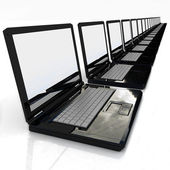 Laptops — Stock Photo