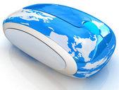 Globe Earth Online — Stock Photo
