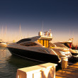Sotogrande marina and urbanisation in andalusia, spain. Near Gibraltar and Malaga — Stock Photo #9937470