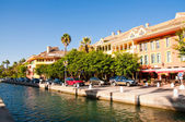 Sotogrande marina and urbanisation in andalusia, spain. Near Gibraltar and Malaga — Stock Photo