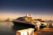 Marina de sotogrande y urbanización en andalucía, españa. cerca de gibraltar y málaga — Foto de Stock
