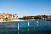 Sotogrande urbanisation and marina — Stock Photo