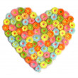 Flower heart — Stock Photo #8726875