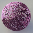 Stock Photo: Sphere from threads