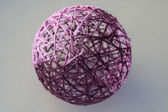 Sphere from threads — Stock Photo
