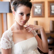 Bride in natural light — Stock Photo #9550175