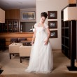 Bride at hotel reception — Stock Photo #9550183
