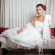Bride at hotel — Stock Photo #9551211