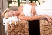Jeune mariée inhumée — Photo