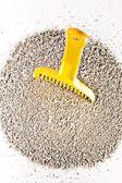 Granular sand for pets toilet — Stock Photo