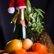Fruits and drinks - Stock Photo