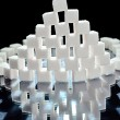 Sugar cubes — Stock Photo #8059234